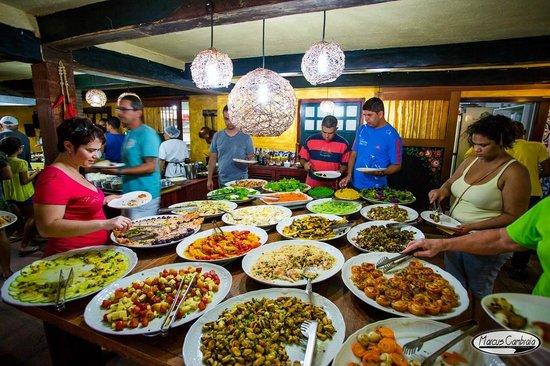 Portinha: Buffet de Saladas
