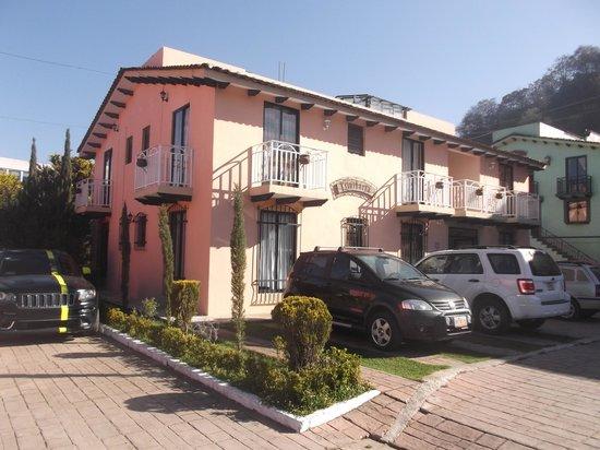 Hotel El Buen Samaritano: Un des blocs de chambres de l'hôtel - 2 mars 2014.