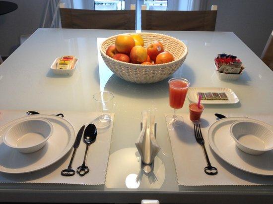 Ca' de Tobia: Particolare della colazione
