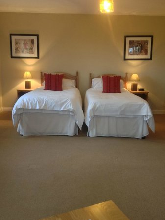 Norbin Farm: Spacious twin room