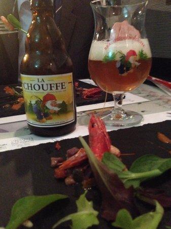 Uva e Menta : Birra belga con stuzzichino.