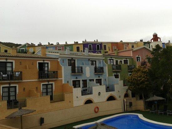 Pueblo Acantilado Suites : vistas del complejo