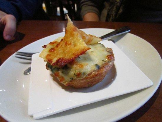 Bar Gaucho: pincho de queso