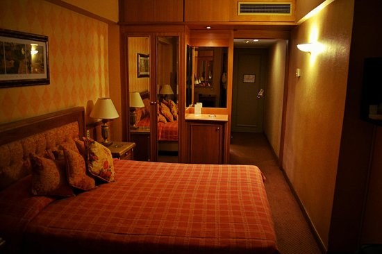 Divani Palace Acropolis : το δωμάτιο μου