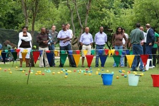 Leriba Hotel: Teambuilding activities