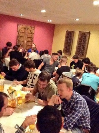 The Bengal Sage : Men's Curry and Quiz evening.