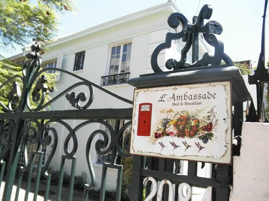 Hotel Boutique L'Ambassade : The under-stated entrance