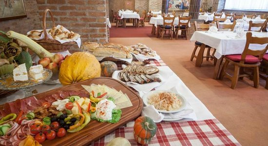 Bizovacke Toplice - Hotel Termia: Nacionalni restoran