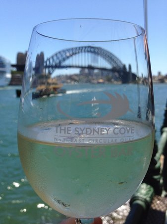 Sydney Cove Oyster Bar: The view