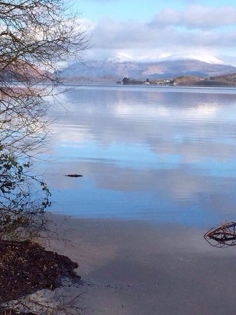 Cameron House on Loch Lomond : Lovely loch view