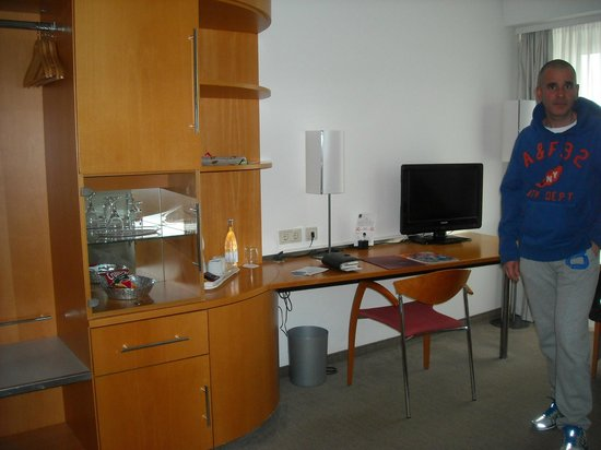 Novotel Mainz: Our room