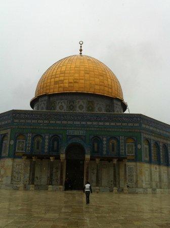 Mosquée Al-Aqsa : le dome doré