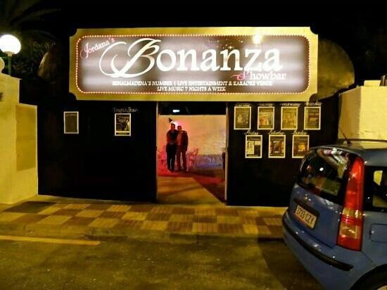 Bonanza Show Bar: The new and improved Jordana's Bonanza Showbar