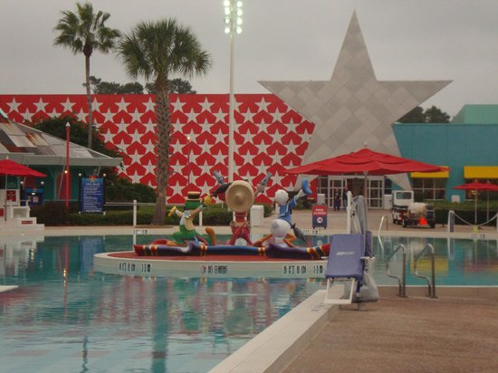 Disney's All-Star Music Resort : One of the pools
