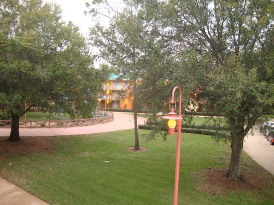Disney's All-Star Music Resort : View from the room