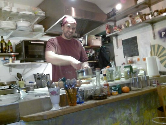 K Fee Tartines: Le Chef : Olivier
