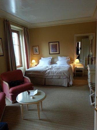 Domaine de Divonne: chambre de luxe