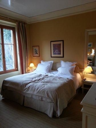 Domaine de Divonne : chambre  de luxe