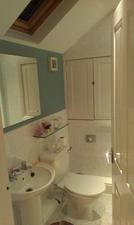 Tate House : En suite shower room