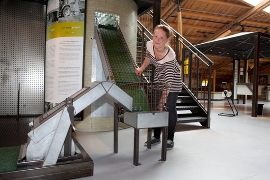 Vitengarden: The main building is a combined science center and museum with interactive experiments