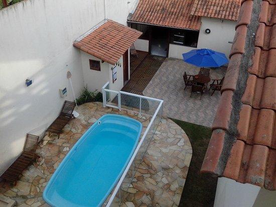 Pousada Cabufa : vista da piscina