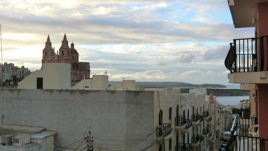 Pergola Hotel & Spa: foto dal balcone