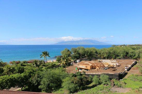 Makena Beach & Golf Resort: View from a Premium Ocean View room