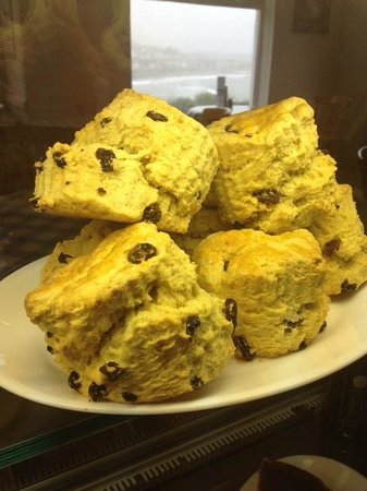 Swn-y-Mor: Homemade fresh scones
