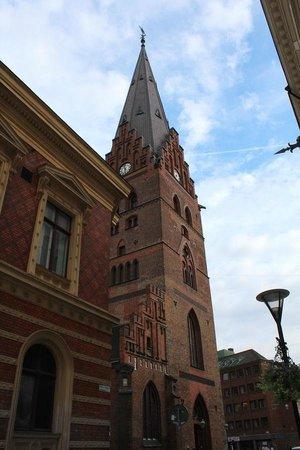 St. Petri (St. Peter's Church) : Узкие улочки старого города