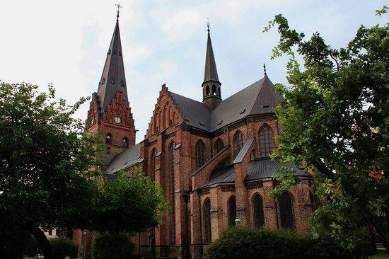 St. Petri (St. Peter's Church) : Одна из немногих точек, откуда виден весь храм