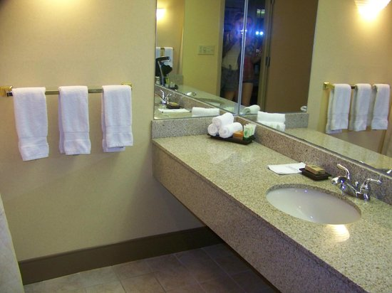 Best Western Premier Grand Canyon Squire Inn : Salle de bain impeccable