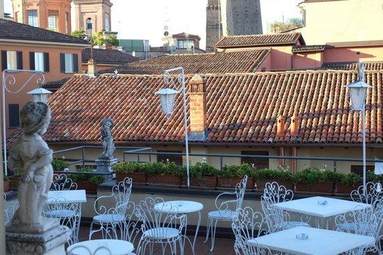 Best Western Hotel San Donato: 屋上テラスからの眺め