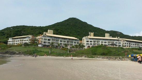 Costão do Santinho Resort Golf & Spa: vista da praia