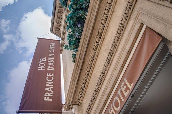 Enseigne Hotel France d'Antin