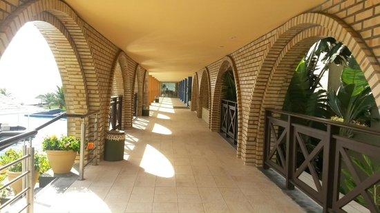 Costão do Santinho Resort Golf & Spa: Corredores