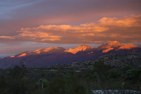 Tanque Verde Ranch: Sunrise