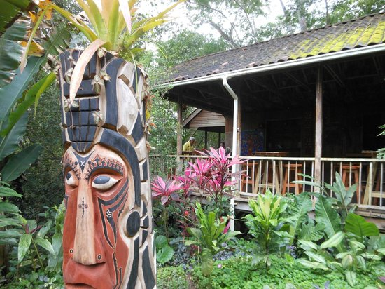 duPlooy's Jungle Lodge: bar and dining area