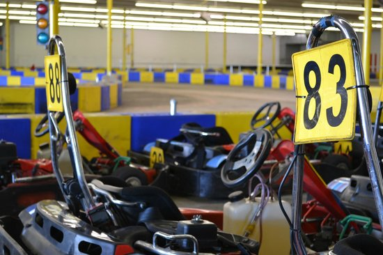 G-Force Karts : High speed indoor karting at it's finest!