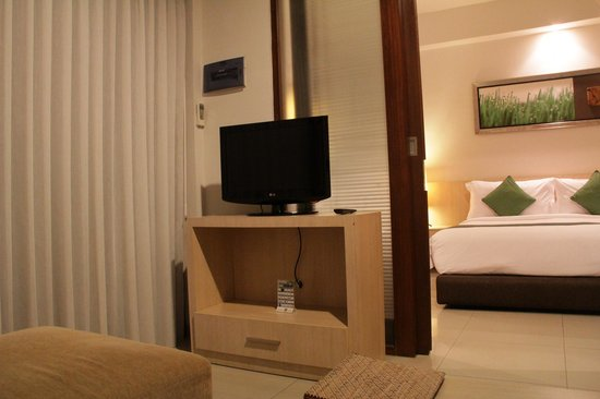 Kokonut Suites : TV area in our suite