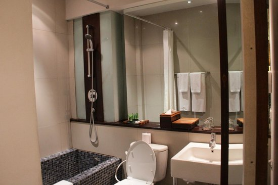 Kokonut Suites : Bathroom in our suite
