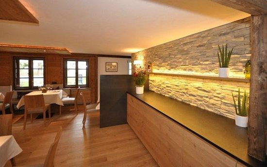 Hotel Landhaus Sonne: Buffet/Speisesaal