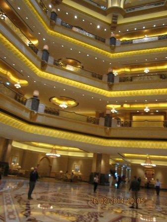 Emirates Palace: Центральная часть отеля
