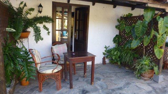 Casa Rural Anton Piche : Patio
