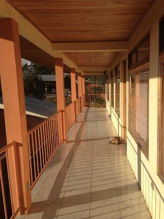 Hotel La Puesta del Sol: Second floor of hotel