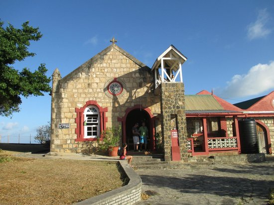 Oasis Marigot: Old church on the island of Mayreau