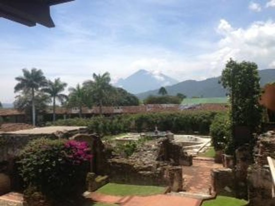 Casa Santo Domingo Museums : View from the garden of Santo Domingo