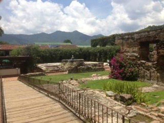 Casa Santo Domingo Museums : View from garden of Santo Domingo