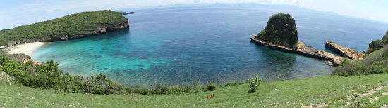 Jerowaru, Indonesia: View of the bay