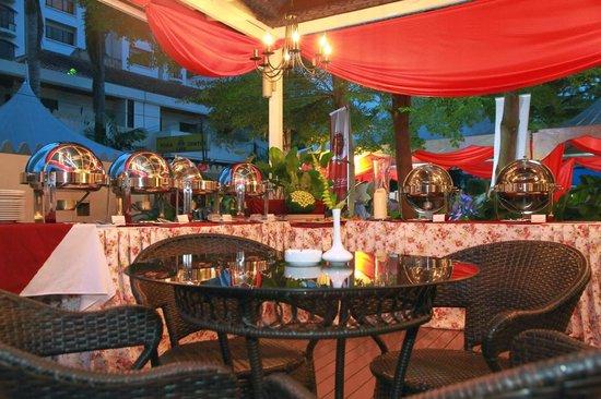Buffet Setup Picture Of Al Nizam Restaurant Caterers Kuala - Catering buffet table setup