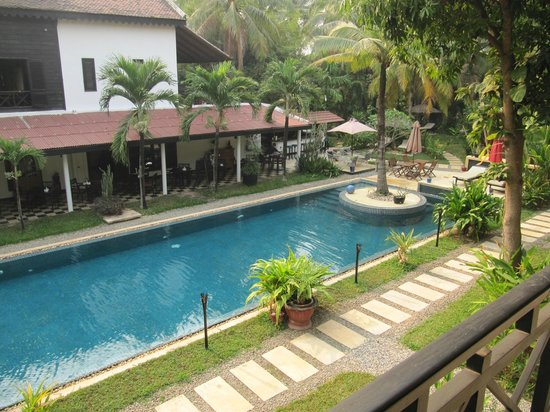 La Maison d'Angkor: la piscine